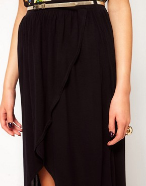 Image 3 ofRiver Island Wrap Maxi Skirt
