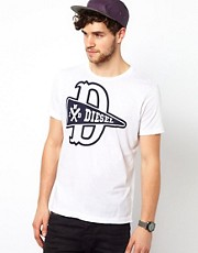Diesel - T-D-R - T-shirt con logo