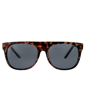 Image 2 of ASOS Flat Brow Sunglasses