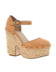ASOS POPLAR Suede Platforms
