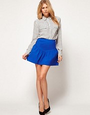 ASOS Skirt with Peplum Hem