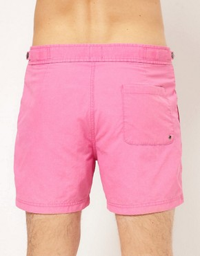 Bild 2 von ASOS  Ausgewaschene Badeshorts