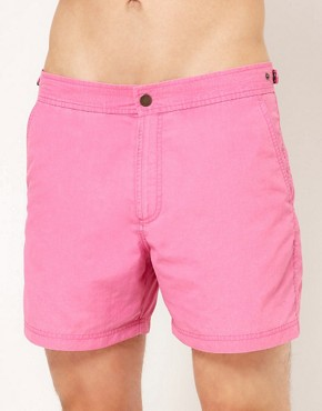 Bild 1 von ASOS  Ausgewaschene Badeshorts