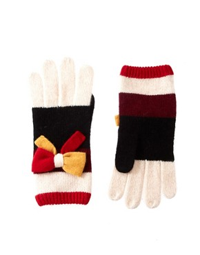 Image 1 of Alice Hannah Color Block Gloves