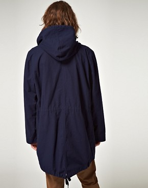 Image 2 ofMads Norgaard Cadogan Hooded Parka