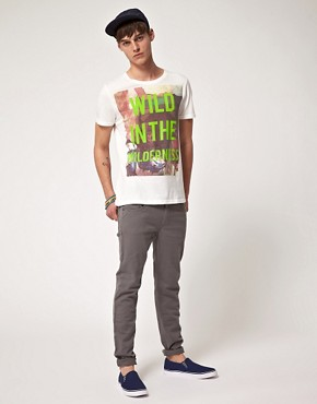 Image 4 ofASOS T-Shirt With Text Print