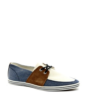 Image 1 ofRiver Island Boat Plimsolls