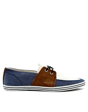 Image 4 ofRiver Island Boat Plimsolls