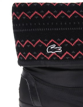 Image 3 ofLacoste Zerubia 6 Knit Cuff Boots