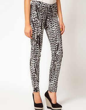 Image 1 ofFiretrap Bella Printed Jeans