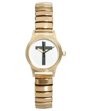 Image 1 ofASOS Cross Expander Watch