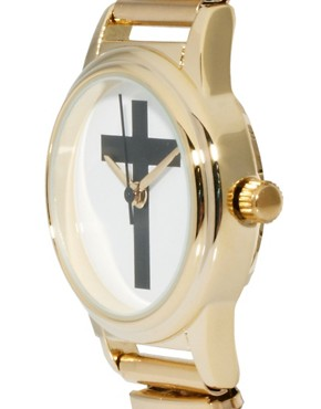 Image 3 ofASOS Cross Expander Watch