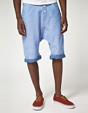 Gio Goi Oxford Weave Shorts