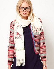 Moschino Cheap &amp; Chic Exclusive To ASOS Magic Scarf
