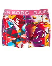 Bjorn Borg On The Wall Trunk