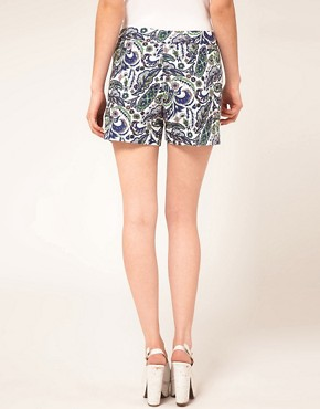 Bild 2 von ASOS  Elegante Shorts mit Paisleymuster