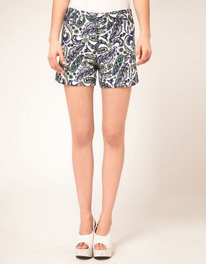 Bild 4 von ASOS  Elegante Shorts mit Paisleymuster