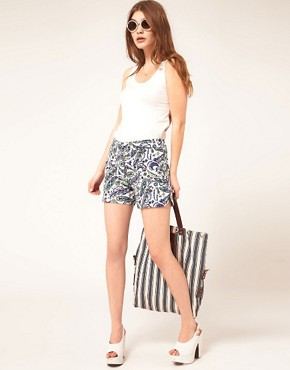 Bild 1 von ASOS  Elegante Shorts mit Paisleymuster
