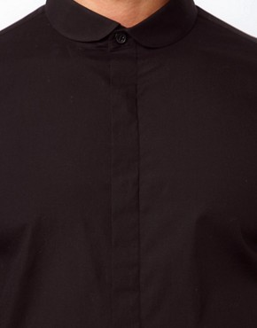 Image 3 ofASOS Smart Shirt With Curve Collar