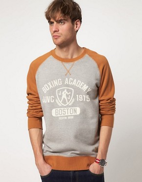 Image 1 ofJack &amp; Jones Vintage Sweatshirt