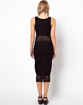Image 2 ofASOS Crochet Midi Dress