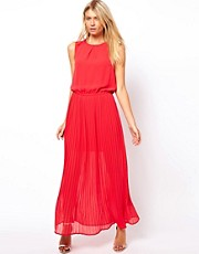 Oasis Rope Neck Maxi Dress