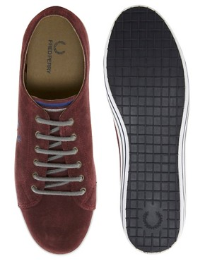 Image 3 ofFred Perry Kingston Suede Plimsolls