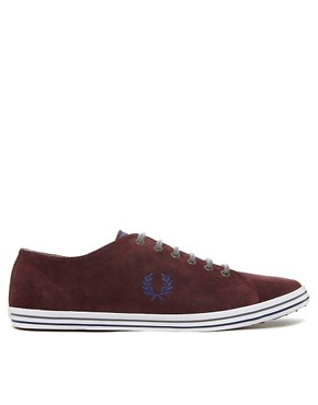 Image 4 ofFred Perry Kingston Suede Plimsolls