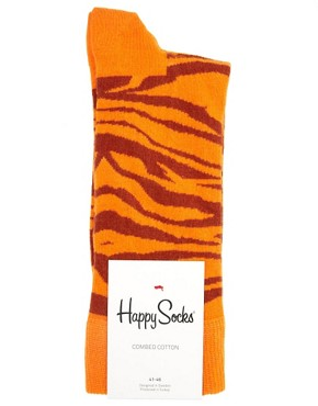 Image 3 ofHappy Socks Animal Print Socks