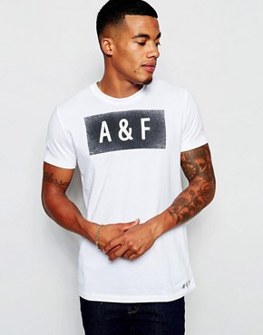 Abercrombie & Fitch T-Shirt with A&F Print