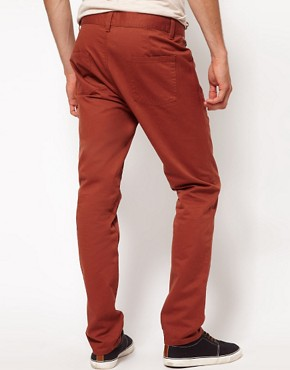 Image 2 ofASOS Slim Chino With Contrast Pockets