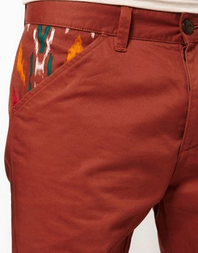 Image 3 ofASOS Slim Chino With Contrast Pockets
