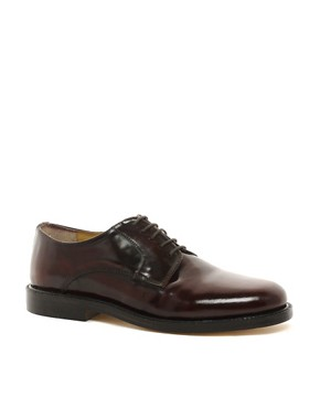 Image 1 ofASOS Chunky Derby Shoes With Leather Sole