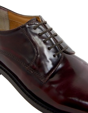 Image 2 ofASOS Chunky Derby Shoes With Leather Sole