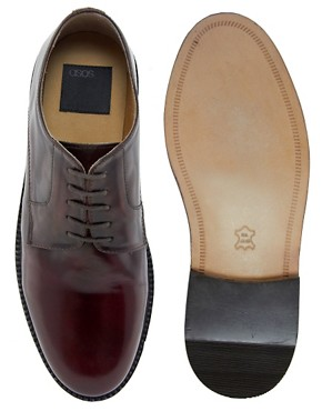 Image 3 ofASOS Chunky Derby Shoes With Leather Sole