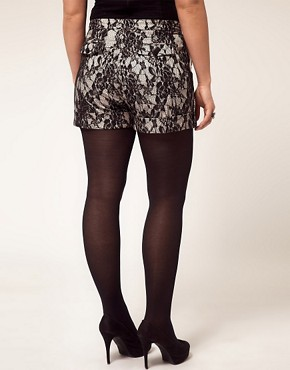 Image 2 ofASOS CURVE Exclusive Short In Lace