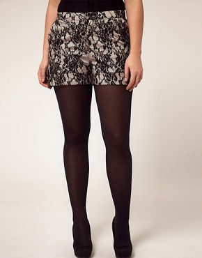 Image 4 ofASOS CURVE Exclusive Short In Lace