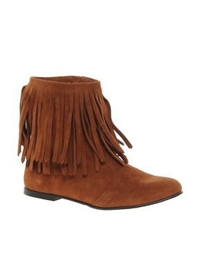 Image 1 ofGanni Leather Sammy Ankle Boots