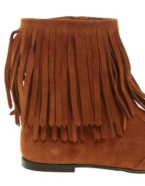 Image 2 ofGanni Leather Sammy Ankle Boots
