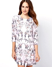 Ted Baker Shift Dress in Safari Print