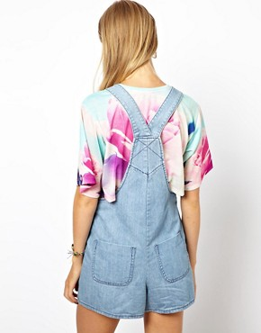 Image 2 ofASOS Bib Short Dungarees