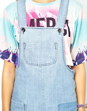 Image 3 ofASOS Bib Short Dungarees