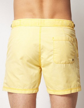 Image 2 ofASOS Washed Out Swim Shorts