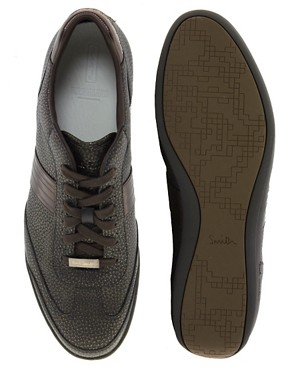 Image 3 ofPaul Smith Jeans Arch Leather Trainers