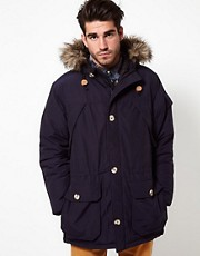 Penfield Hoosac Parka Faux Fur Expedition
