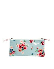 Cath Kidston Daisy Rose &amp; Pink Stars Double Zip Make-Up Bag