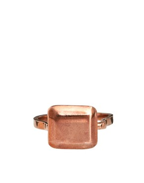 Image 2 ofHusam El Odeh Exclusive To ASOS Turning Stone Ring