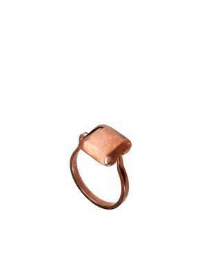 Image 1 ofHusam El Odeh Exclusive To ASOS Turning Stone Ring