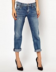 Goldsign His Jean Boyfriend Jeans
