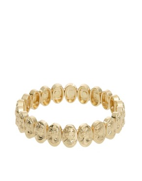 Image 1 ofASOS Stretch Cameo Bracelet